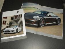 GEMBALLA PORSCHE 991 CARRERA brochure catalogue - édition 2016 rare !!