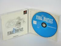 FINAL FANTASY 1 FF1 Ref/ccc PS1 Playstation Japan Game p1