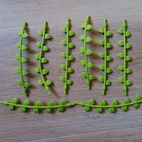 LEGO PARTS - x8 Qty Plant Vine with Leaves, 16L Excellent