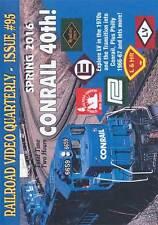 Railroad Video Quarterly Issue 95 Spring 2016 Train Video DVD Magazine