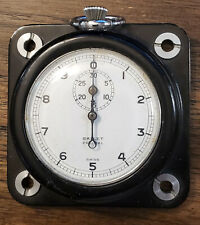 Gallet flyback dash mount stopwatch -- 1950s