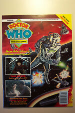 DOCTOR WHO MAGAZINE ISSUE #181 25TH DECEMBER 1991