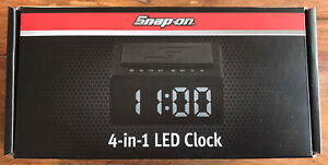 Snap On 4 In 1 LED Clock - Wireless Charger Bluetooth Speaker + FREE STICKER
