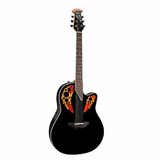 Ovation Timeless Elite Acoustic Electric Guitar, Black
