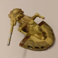 CUSTOM Star Wars Micro Machines TRADE FEDERATION BATTLE TANK Moving Turret