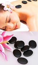 18 Stück Massagesteine Hot Stones Basaltsteine Wärmetherapie