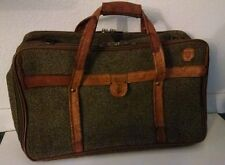 Hartmann Luggage Tweed & Leather Triple Compartment  Carry On  Bag