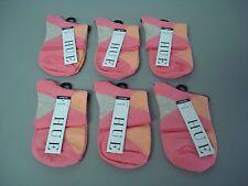 NWT Hue Women's Argyle Shortie Socks One Size Pinkie 6 Pair #722J