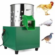 Small Chicken Dove Feather Plucking Machine Poultry Plucker Birds Depilator Bi