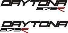 Triumph Daytona 675R Vinyl stickers x 2