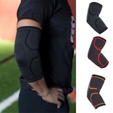 Compression Elbow Brace Support Arthritis Sleeve Bandage Gym Sport Arm Wrap Pads