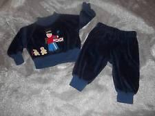 Vtg 1984 Frog Pond Kids Christmas Drummer Boy Outfit Clothes Lot 3 Months Reborn