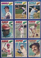 1977 OPC Baseball Complete Set (1-264)  - Ryan, Brett - HOFers Galore!