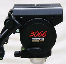 Bogen 3066 (Manfrotto 116MK3) Pro Video Fluid Head with arms & plate - Mint