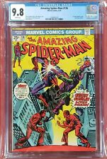 Amazing Spider-man #136 cgc 9.8 Only White Page copy on Ebay Spiderman