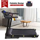 3HP Electric Incline Folding Treadmill Walking Running Jogging Fitness Machine