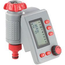 Bewässerungsuhr: Digitaler Bewässerungscomputer BWC-100 mit Magnet-Ventil