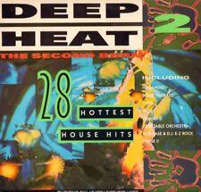 """Various Dance(2x12"""" Vinyl LP Gatefold)Deep Heat 2-The Second Burn-Telst-Ex/Ex"""