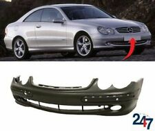 FRONT BUMPER WITH PARK SENSORS HOLES COMPATIBLE WITH MERCEDES BENZ CLK C209 -10