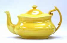 Vintage Style YELLOW CARLTON WARE TEAPOT Large Made In England W&R  - D14