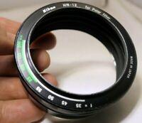 Nikon HN-12 Lens Hood Shade Metal for Nikon 52mm Polar Polarizing filter