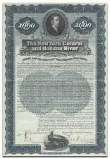 New York Central & Hudson River Railroad Company Bond Certificate