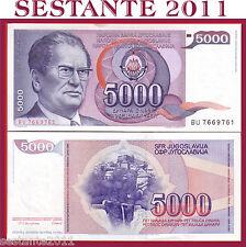 YUGOSLAVIA / JUGOSLAVIA   5.000 5000   DINARA 1985   P  93   FDS / UNC