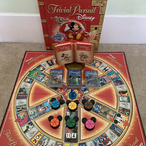 Trivial Pursuit Disney Edition, 100% Complete Game by Parker