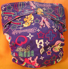 Adult New Reusable Super Absorbent Cloth Diaper S,M,L,Xl My Lil Pony Show Time