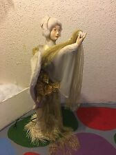 RARE Animated Vintage Mechanical Hamberger Store Display Angel #1 Christmas