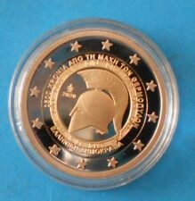Greece 2 euro 2020 2,500 years from the battle of thermopylae PROOF ! SUPER COIN