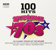 100 Hits - Supreme 70s Various Artists Audio CD