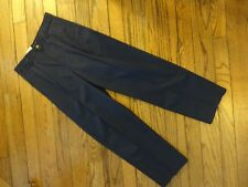 New! Boy's Dockers Navy Double Pleated Chino Pants Size 18