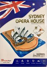 Sydney Opera House (71 pcs)  - (S.T.E.A.M) CubicFun 3D puzzle C067h