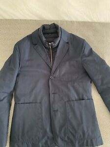 """Dunhill Down Suit Jacket Blue Size 40"""" BNWT"""