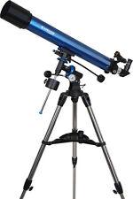 Meade Instruments Polaris 90eq Refractor Telescope 90mm Metallic Blue