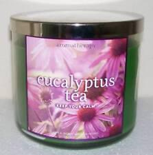 BATH & BODY WORKS EUCALYPTUS TEA 14.5OZ JAR AROMATHERAPY CANDLE