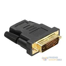 DVI-D Male to HDMI Female Converter Adapter Coupler Joiner Convertor