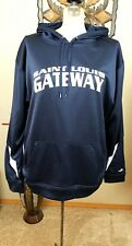 Alleson Athletic St Louis Gateway Hootie Mens Size lined Long sleeve blue