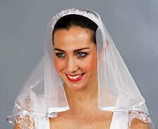 Haarreif mit Schleier / Braut, Brautjungfrau, Hochzeit, Brautschleier, Karneval
