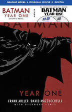 BATMAN: YEAR ONE Graphic Novel (Blu-Ray, DVD, Digital) Brand New