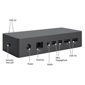 Microsoft Surface Dock 1661 for Surface Pro 3 4 5 6 with 90 W Power Supply