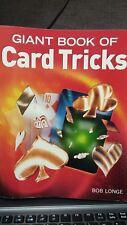 Giant Book of Card Tricks Bob Longe 384 Pages Magic