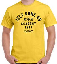 Jeet Kune Do Academy Mens Martial Arts T-Shirt Bruce Lee MMA Bruce Lee Top