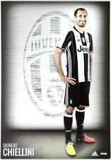 Cartoncino Juventus Stagione 2016/17 - Giorgio Chiellini