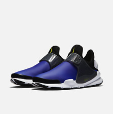 AUTHENTIC Nike Sock Dart SE 911404 400 Size 9 Paramount Blue/ Electrolime