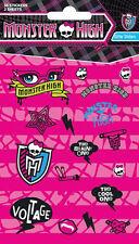 Official Monster High - Logos Glitter Sticker Pack