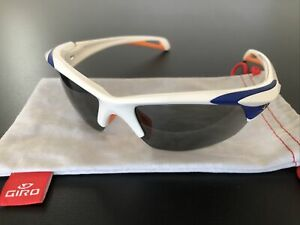 Giro Filter Sunglasses White/Blue/orange Excellent Condition Cycling