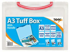 Tiger A3 Tuff Box With Handle Assorted 301361