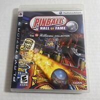 Pinball Hall of Fame The Williams Collection (Sony PlayStation 3, 2009) PS3 Rare